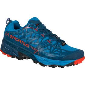 La Sportiva Akyra GTX Running Shoes Men neptune/poppy